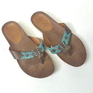 nine west vintage collection sandal Sz 6